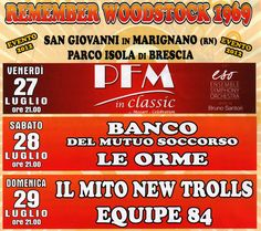 Remember Woodstock 2012 a San Giovanni in Marignano