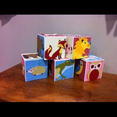 #Cricut made blocks!