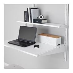 ALGOT Wall upright/shelves, white - IKEA