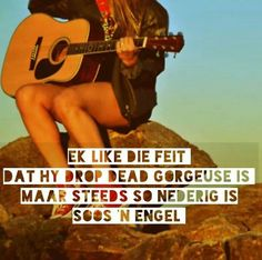 Ek like Falling In Love Quotes, Afrikaanse Quotes, Losing Someone, Favorite Quotes, Qoutes, Poems, Random Stuff, Wedding Ideas, Wallpapers