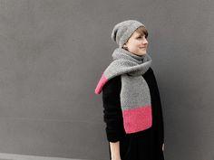 DIY-Anleitung: Schal mit Perlmuster stricken via DaWanda.com