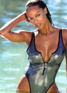 Tyra Banks Swimsuit | 10 tyra banks (chris webber) - sports illustrated swimsuit models who ...