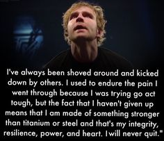 THIS is the EXACT reason why he's my inspiration!!!!!