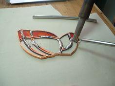 copper foil glasswork soldering