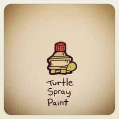 Turtle Spray Paint #turtleadayjuly - @turtlewayne- #webstagram