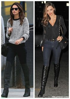 Knee-high Boots: Day to Night Transition