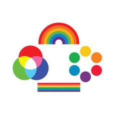 Tattly Rainbow Set, $10.50, now featured on Fab.