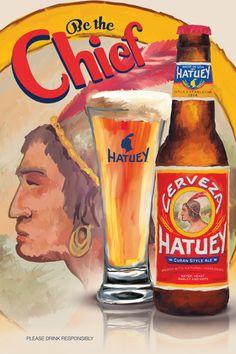Hatuey Beer Poster on Behance