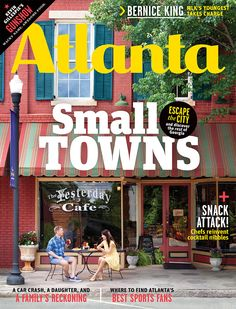 The latest edition of Atlanta Magazine features #Georgia's small towns!