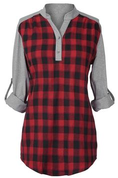 Cupshe Perfect Pattern Plaid Top