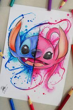 Disney drawings Disney cartoon drawings and Disney character drawings - Easy Disney Drawings, Disney Character Drawings, Cool Art Drawings, Art Drawings Sketches, Cartoon Drawings, Drawing Disney, Cartoon Cartoon, Beautiful Drawings, Cartoon Characters
