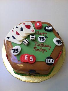 Poker cake Poker Cake, Vegas Theme, Man Cake, Cakes For Men, Novelty Cakes, Lorraine, Custom Cakes, Themed Cakes, Cake Ideas