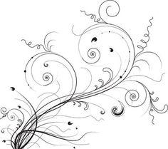 Floral ornaments vector pack design by freebie Free Vectors, Free Vector Graphics, Free Vector Art, Flower Vector Art, Vector Flowers, Stencil Patterns, Zentangle Patterns, Zentangles, Arabesque