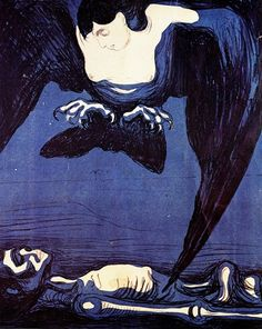 Edvard Munch , The Vampire   Bats, Pipistrelli ●彡