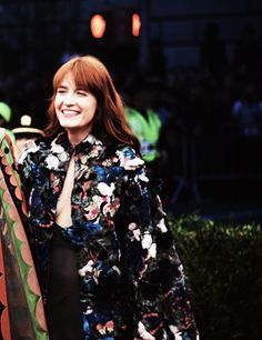"""""""I don't think I'll ever be polished. I'm integrally, slightly scruffy."""" Florence Welch"""