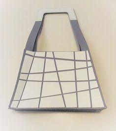 lasercut bag felt + plexi by cbdisegno https://www.facebook.com/cbdisegno