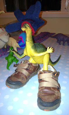 This year our plastic dinosaurs discovered Dinovember - a cool new craze sweeping the dinosaur world where the dinos don't return to their. Plastic Dinosaurs, Fantasy Artwork, Toy Boxes, T Rex, Hanging Out, Elf, Christmas Ideas, Cute Animals, Humor