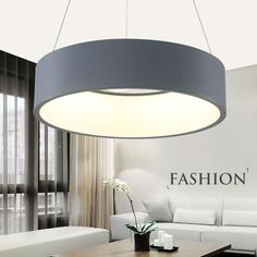 Free Shipping Modern Led Pendant Lights Circle Suspension For Dining Room  Pendant Lamps Home Decoration Light