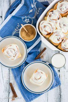BUŁECZKI CYNAMONOWE Cinnabon, Breakfast, Cake, Ethnic Recipes, Blog, Fotografia, Morning Coffee, Mudpie, Blogging