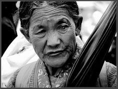 lady with an umbrella by Sukanto Debnath