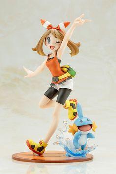 "Crunchyroll - Kotobukiya Adds ""Pocket Monsters"" Haruka ARTFX J Figure with Mizugoro"