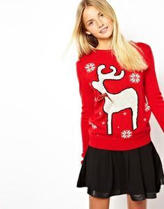 Ugly Holiday Sweater:  Rock this reindeer when you #paypalit at @asos.com.