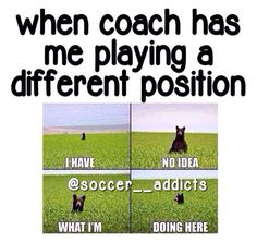 Nobody but my teammates know how true this is ... IM NOT A DEFENDER!!!!
