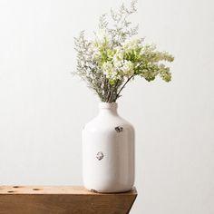 White Jug #Vase #Magnolia @joannagaines_
