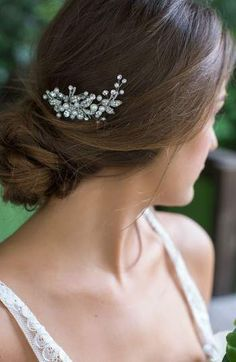 clips 10 x diamante // diamonte hair pins grips prom, Bridal bridesmaid