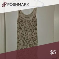 AE tank top Cute tank to wear alone or under something. Great condition American Eagle Outfitters Tops Tank Tops