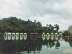 Floating bungalows, Khao Sok National Park , Thailand
