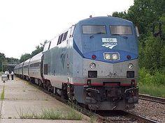 Take an Amtrak somewhere