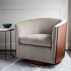West Elm offers modern furniture and home decor featuring inspiring designs and colors. Create a stylish space with home accessories from West Elm. Modern Swivel Chair, Small Swivel Chair, Modern Dining Chairs, West Elm, Chair Design, Furniture Design, Game Room Chairs, Leather Lounge, Leather Chairs