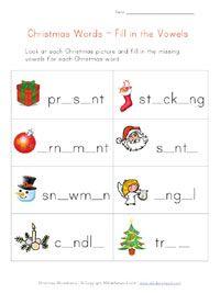 Christmas Worksheets for Kids. 21 Christmas Worksheets for Kids. Free Printable Christmas Worksheets, Christmas Worksheets Kindergarten, Christmas Activities, Kindergarten Reading, Preschool Learning, Learning Activities, Vowel Worksheets, Kids Math Worksheets, Alphabet Worksheets