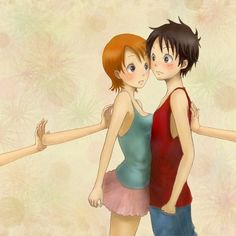 Luffy x Nami #one piece