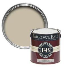 Farrow & Ball Wimborne White Matt Estate Emulsion Paint L Farrow Ball, Cornforth White Farrow And Ball, Skimming Stone, Gloss Paint, Paint Stain, Blackened Farrow And Ball, Houses, Pallets, Frames