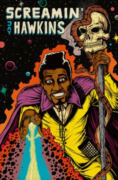 Screamin' Jay Hawkins by https://www.deviantart.com/alex-cooper on @DeviantArt