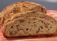 Бон Апети Хляб без месене с орехи и сирене