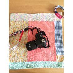 6f223df51c98 カメラを可愛く持ち歩く☆カメララップを手作り - 暮らしニスタ
