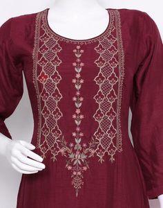 Embroidery Motifs, Embroidery Designs, Meena Bazaar, Anita Dongre, Kurti, Tunic Tops, Flat, Collection, Ideas