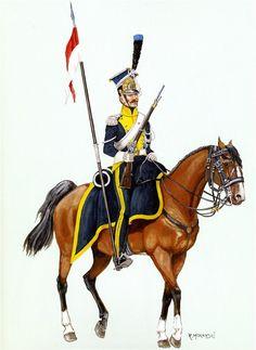 Ulano del rgt. lancieri della legione della Vistola
