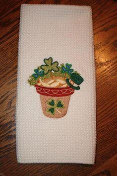 St. Patrick's Day - kitchen towel