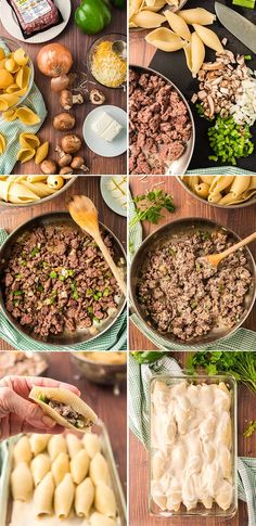 These Philly Cheese Steak Stuffed Shells are the great taste of philly cheese steak in delicious stuffed shell form, for an amazing pasta dinner! Cheese Stuffed Shells, Stuffed Shells Recipe, Jumbo Shell Recipes, Taste Of Philly, Philly Cheese, Recipe Collection, Cheesesteak, Pasta Dishes, Great Recipes