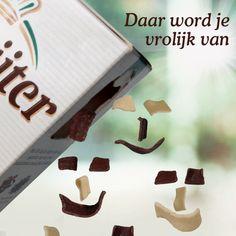 Vlokfeest, met melk en witte chocoladevlokken.  #deruijter #happy #vlokken
