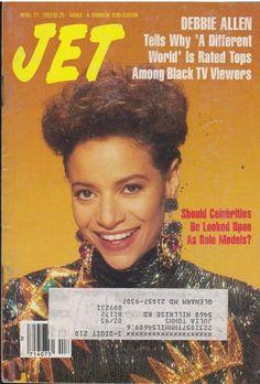 Jet Magazine, Black Magazine, Life Magazine, News Magazines, Vintage Magazines, Ebony Magazine Cover, Magazine Covers, Phylicia Rashad, Debbie Allen