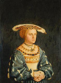 Bartel Beham: Susanna von Brandenburg.