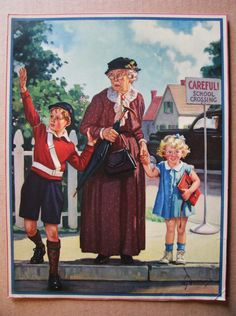 """Careful School Crossing"" Hintermeister"