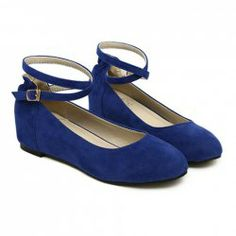 $12.26 Simple Style Women's Pumps With Pure Color and Cross-Strap Design