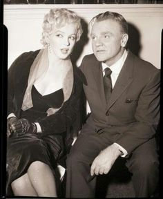 Marilyn with James Cagney