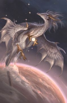 *DRAGON ~ Ancient creatures are living threads which connects us to our planets distant past